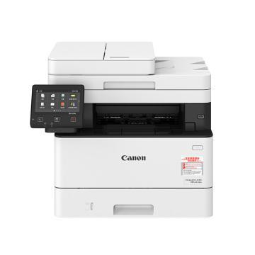 佳能(Canon)黑白激光多功能一体机,A4(打印 复印 扫描 传真)自动双面 有线无线MF441dw 33页/分