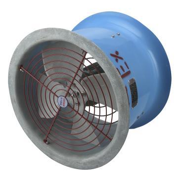 轩丰 防爆防腐轴流风机,FBT35-11-3.15,220V,1450rpm,壁式,叶片25°,防爆等级ExdIIBT4