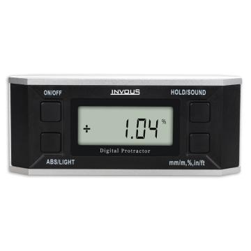 INVOUS 无磁数显水平仪,4×90°,IS780-80570