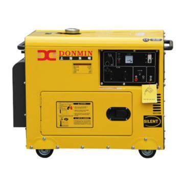 上海东明 5KW柴油静音发电机,SD6500