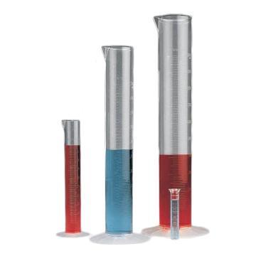 经济型刻度量筒,100ml,PMP,1个/包