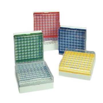 Nalgene CryoBoxesTM,聚碳酸酯,9x9阵列,可容纳管瓶尺寸5.0ml,1箱