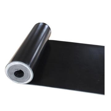 华泰 绝缘垫,黑色平面,1.2m*10m*5mm