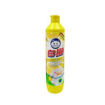 白猫 高效去油洗洁精, 500g 单位:瓶