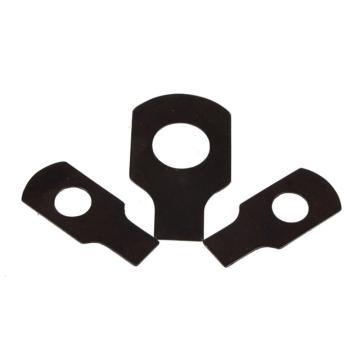 西域推荐 GB854-88单耳止动垫圈,Φ4,碳钢,发黑,1000个/包