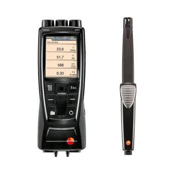 德图/testo 480多功能测量仪配IAQ室内空气质量探头套装,0563 4800+0632 1543
