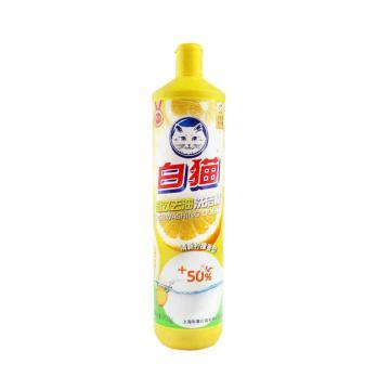 白猫 高效去油洗洁精,黄瓶 900g 单位:瓶