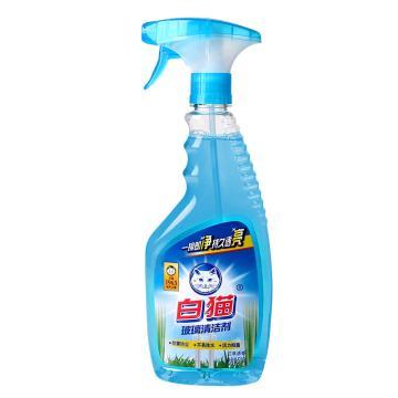 白猫 玻璃清洁剂,500G 单位:瓶