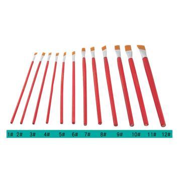 蒂梵妮尔 尼龙毛画笔,7号 10mm 25支装
