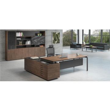 皇私 维纳系列F款行政桌,2300W*1900D*750H