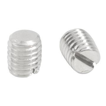 西域推荐 GB73开槽平端紧钉螺钉,M1.6-0.35X2,不锈钢304/本色,100个/包