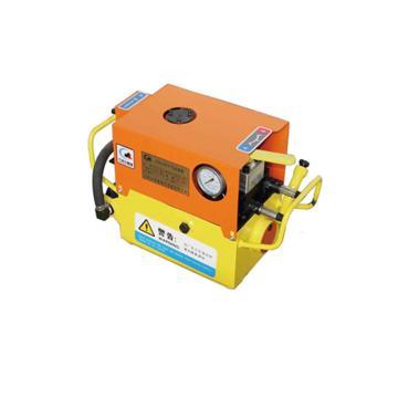 墨隆 矿用锚索张拉机具气动油泵,容量5L 流量2.5L/min,QYB-0.45/70