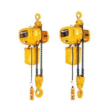 虎力 环链电动葫芦3T,双链 起升高度24米,EH30-02*24M