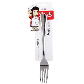 宜洁 致优不锈钢中叉,Y-9844 1个装 单位:个