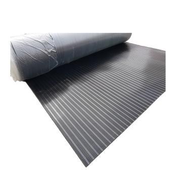 联护电力 35KV、10mm厚、5米/卷、黑色绝缘橡胶垫、绝缘地毯、配电房配电室用绝缘胶板、现做