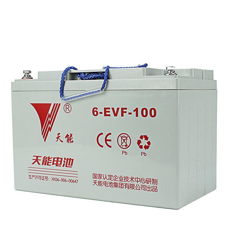 天能 蓄电池,6-EVF-100A