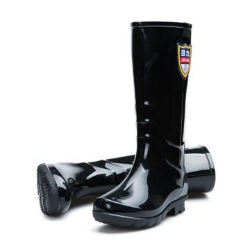回力 雨靴,女款,黑色,高筒,863-38