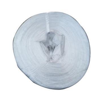 西域推荐 灰白色塑料打包绳,双层6mm宽,约3.4KG/卷(7卷整箱,请按7的倍数下单)