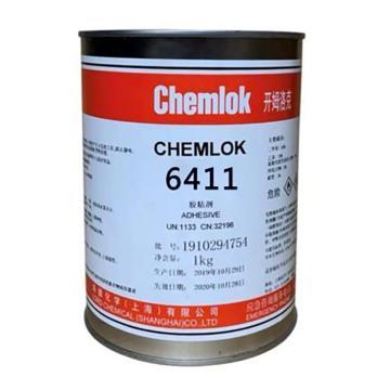开姆洛克 胶粘剂,6411,1kg/罐