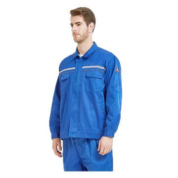 雅姿坊 防酸碱防静电特种防护工作服,蓝色,180(同系列30套起订)