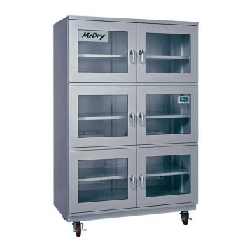 McDry 自动防潮箱(超低湿1%RH式),玻璃门×6扇,内寸:1150×600×1610mm,DXU-1001A,6-8290-11,运费需另算