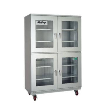 McDry 自动防潮箱(超低湿1%RH式),玻璃门×4扇,内寸:1150×600×1610mm,DXU-1002A,81-0388-01,运费需另算