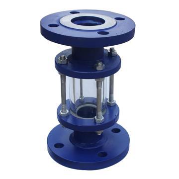西域推荐 玻璃管视盅,SG-BL-16,碳钢,DN15