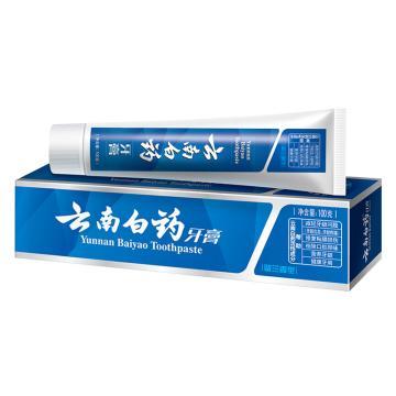 云南白药 牙膏,留兰香型,100g