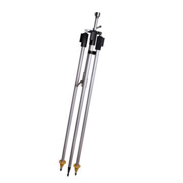 西域推荐 对中杆套装,2.15米棱镜撑杆对中架三脚对中杆带支架