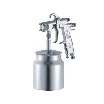 明治喷枪,小型喷漆枪 口径1.3mm 吸抽式(带国产壶),F110-S