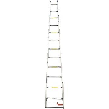 西域推荐 一键伸缩梯,承重(KG):150 完全展开尺寸(M):2.24M,CTCB-TN06