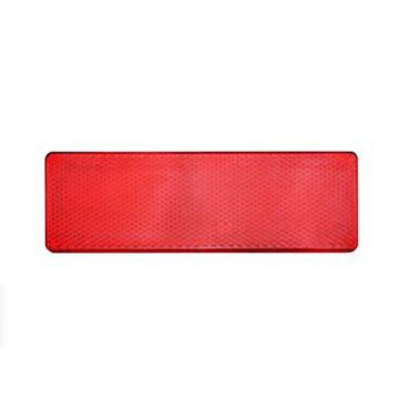 反光板(胶粘),ABS,无孔,红色15*5cm
