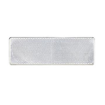 反光板(胶粘),ABS,无孔,白色15*5cm