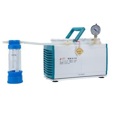 津腾 隔膜真空泵(含截流瓶),GM-1.0A (防腐)