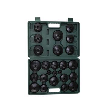 世达 25件通用帽式滤清器扳手组套,09705