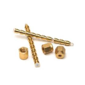 螺帽,前密封垫圈和后密封垫圈,1/8 英寸,黄铜,20/包