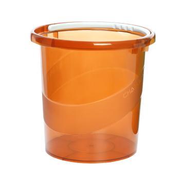 茶花 巧提手宽边水桶-L,0250 随机色 单位:个