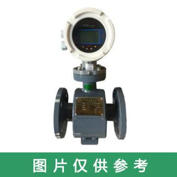 大港 分体电磁流量计,DN100 0.5级精度LCD显示 4-20mA220V 四氟衬 316L电极 1.6MPa