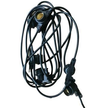 西域推荐 畜牧灯泡专用灯头,含10个E27灯头(2灯头间隔3米),单位:根