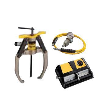恩派克ENERPAC 自锁紧式液压拔轮器套件,14ton 3爪(含拔轮器+泵XA11G和油表表座油管),LGHS314A