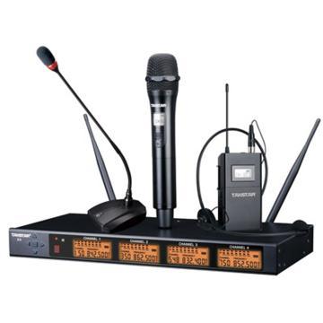 得胜四通道 UHF无线麦克风(含X4-TL四只),X4