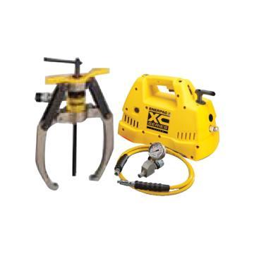 恩派克ENERPAC 自锁紧式液压拔轮器套件,64ton 3爪(含拔轮器+泵XC1201ME和油表表座油管),LGHS364CE