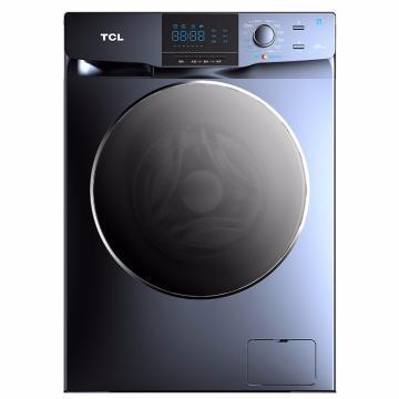 TCL 10KG变频滚筒洗烘一体洗衣机,XQG100-123071HB 星云蓝 单位:台
