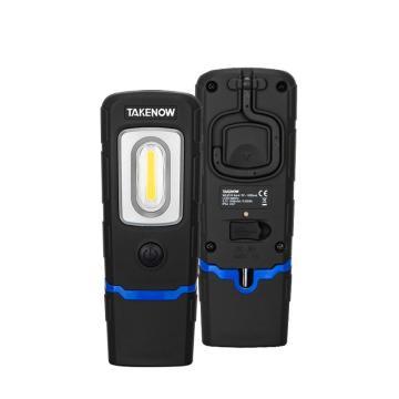 铁朗 工作灯,带磁铁锂电池充电式(可360度旋转+90度折弯),WL5010,单位:个