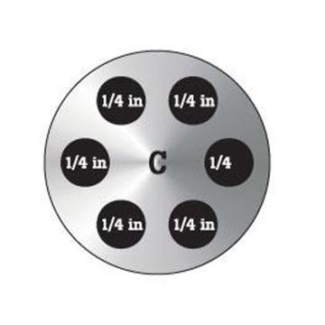福禄克/FLUKE C型插块,9190-INSC