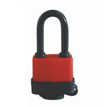 罕码 防风雨挂锁 红色,HMLK2402