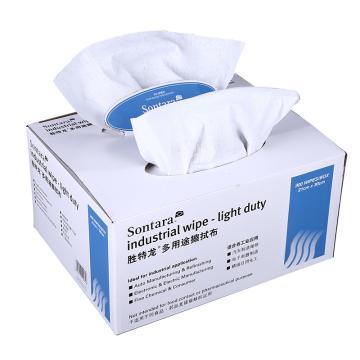 胜特龙 SONTARA 擦拭布,LD-P2 21*30cm,300片/盒,8盒/箱 白色 单位:箱