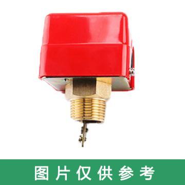 伊莱科 靶式流量开关,HFS-20 红 6分 铁底座 耐高温250℃