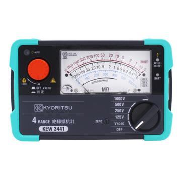 克列茨/KYORITSU 绝缘电阻测试仪,KEW 3442