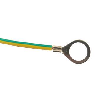 佳鑫铜业 静电跨接线,M16×200mm 黄绿线径6平方毫米 两端带线鼻子